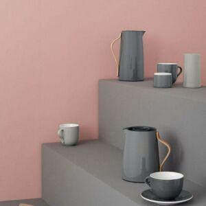 ترمس القهوة والشاي الرمادي الغامق من Stelton