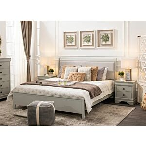 طقم غرفة نوم جورستد سرير ملكي حجم 193*203 سم)