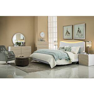طقم غرفة نوم سرير ملكي نوفولا