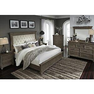 جونيل طقم غرفة نوم سرير ملكي