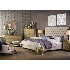 طقم غرفة نوم سرير ملكي (193*203 سم) ايسكيول