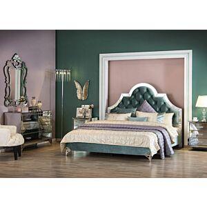 جرين موون طقم غرفة نوم سرير ملكي