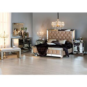 طقم غرفة نوم سرير كوين دونيرزمارك (150*200 سم)