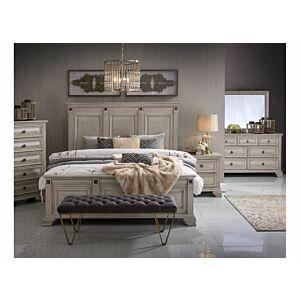 نوديلا طقم غرفة نوم سرير ملكي