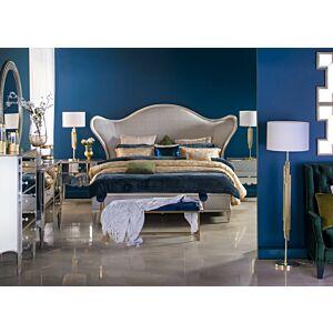 طقم غرفة نوم أولافاريا سرير ملكي (حجم 193*203 سم)