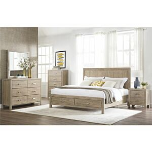 طقم غرفة نوم امبروش حجم كوين (150*200 سم)