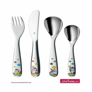 أدوات مائدة للأطفال يونيكورن من دبليو إم إف- 4 قطع