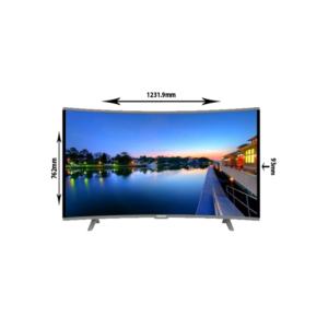نيكاي شاشه تلفزيون سمارت كيرف،55 بوصة ،4K
