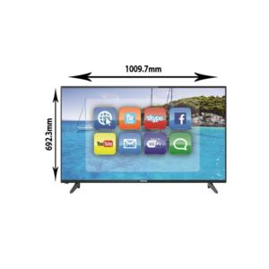 نيكاي شاشه تلفزيون سمارت 43 بوصة 4K
