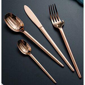 أدوات طعام Slim-برونزي