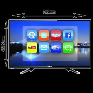 نيكاي شاشه تلفزيون سمارتHD, 32 بوصة