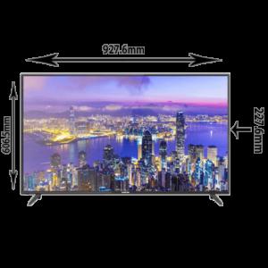 نيكاي شاشه تلفزيون Full HD, 40 بوصة