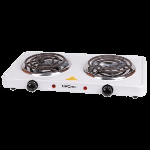 جي في سي برو طباخ كهربائي 2000واط ، 2 عين