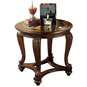 Norcastle Round End Table طاولة