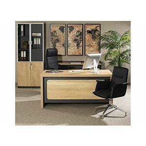 مكتب حجم 160 سم - زاوية مكتب سيدال