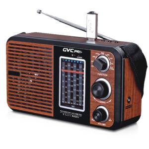 جي في سي برو راديو GVC-1702 متنقل ،USB