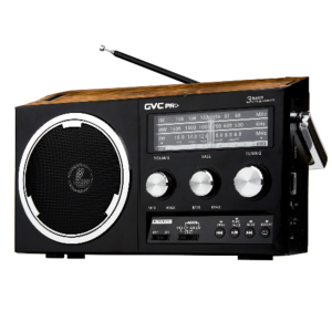 جي في سي برو راديو GVC-1703 متنقل ،USB