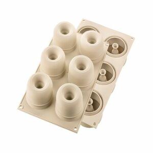 قالب خبز ثلاثي الأبعاد ميني ارينا - 6 تجاويف من سيليكومارت Silikomart