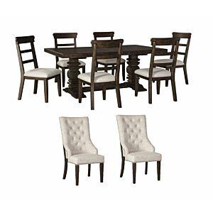 طاولة طعام 8 كرسي هيلكوت
