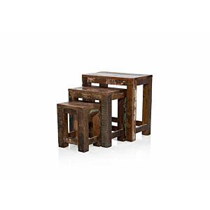طاولات متداخلة 3 قطع جارنت