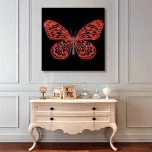 لوحة Red Butterfly