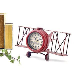 ساعة ديكور JET PLANE- أحمر
