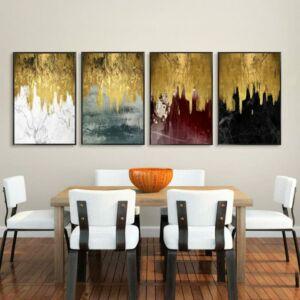 طقم لوحات GOLDEN RAIN