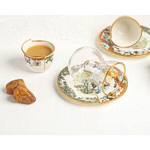 طقم شاي وقهوة Half - ل6 أشخاص