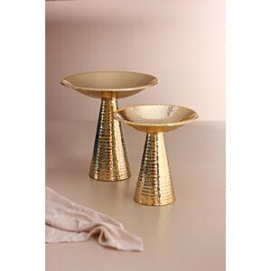 طقم صحون تقديم ساليناس - ذهبي