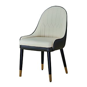 كرسي كاردينال - لون بيج وقهوة