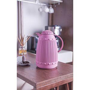 ترمس القهوة و الشاي سلايسي لون وردي