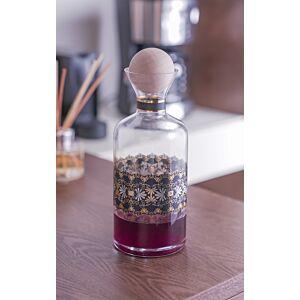 حافظة مشروبات إيليغانس إسطواني- زجاج شفاف