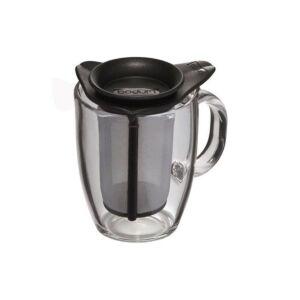 كوب شاي زجاجي يويو مع مصفاة شاي ستانلس ستيل، بودم-Bodum