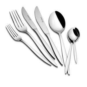 طقم أدوات مائدة 89 قطعة Aura ستانلس ستيل من كوركوماز