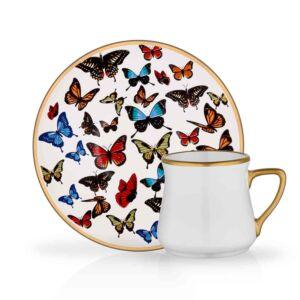 طقم فناجين قهوة Butterfly