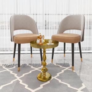 طاولة جانبية ترينا - لون ذهبي