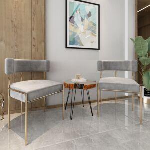 طاولة جانبية خشبية ناتيورال بحواف متعرجة وأربع قوائم - لون بني