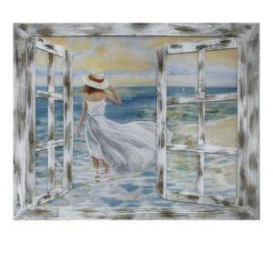 لوحة مرأة الشاطئ
