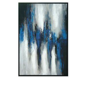 40X1.4X60'' 100% handmade painting on لوحة كانفاس with Black PS f