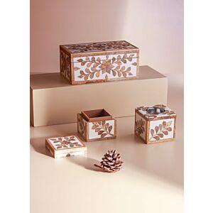 طقم مبخرة أمابيل مع صندوقين
