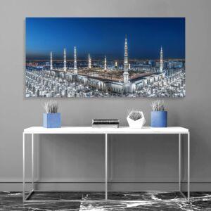 لوحة لصورة المسجد النبوي