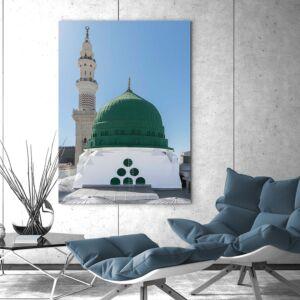 لوحة حصرية لصورة المسجد النبوي