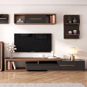طاولة تلفزيون ملتي فانكشنال