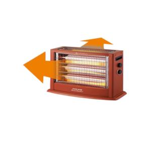 هوم ماستر دفاية كهربائية , 2400 واط - خشبي