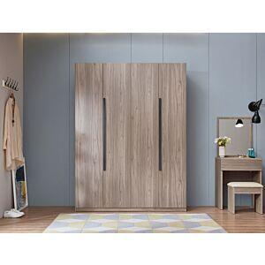خزانة ملابس ابيلي - 4 أبواب