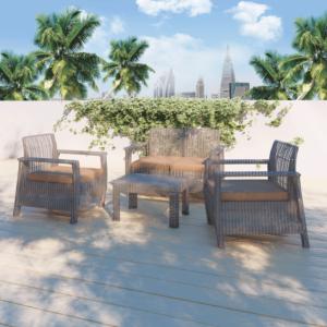 مجموعة طاولة وكراسي حديقة بريمروز