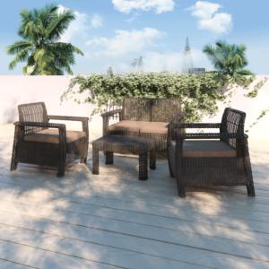 مجموعة طاولة وكراسي حديقة زينيا