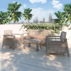 مجموعة طاولة وكراسي حديقة ماريقولد