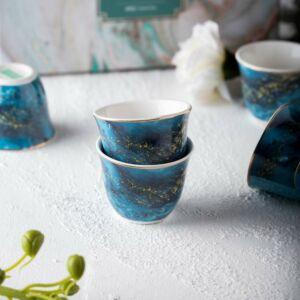 فناجين قهوة ماربيلا- لون أزرق غامق