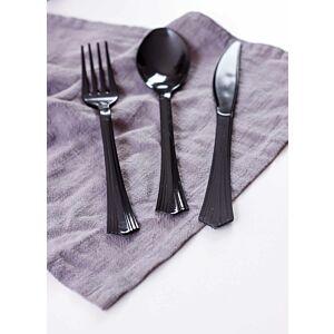 أدوات طعام إنجل - لون أسود